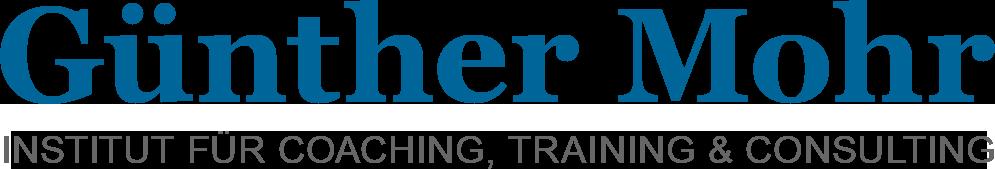 Günther Mohr | Institut für Coaching, Training und Consulting